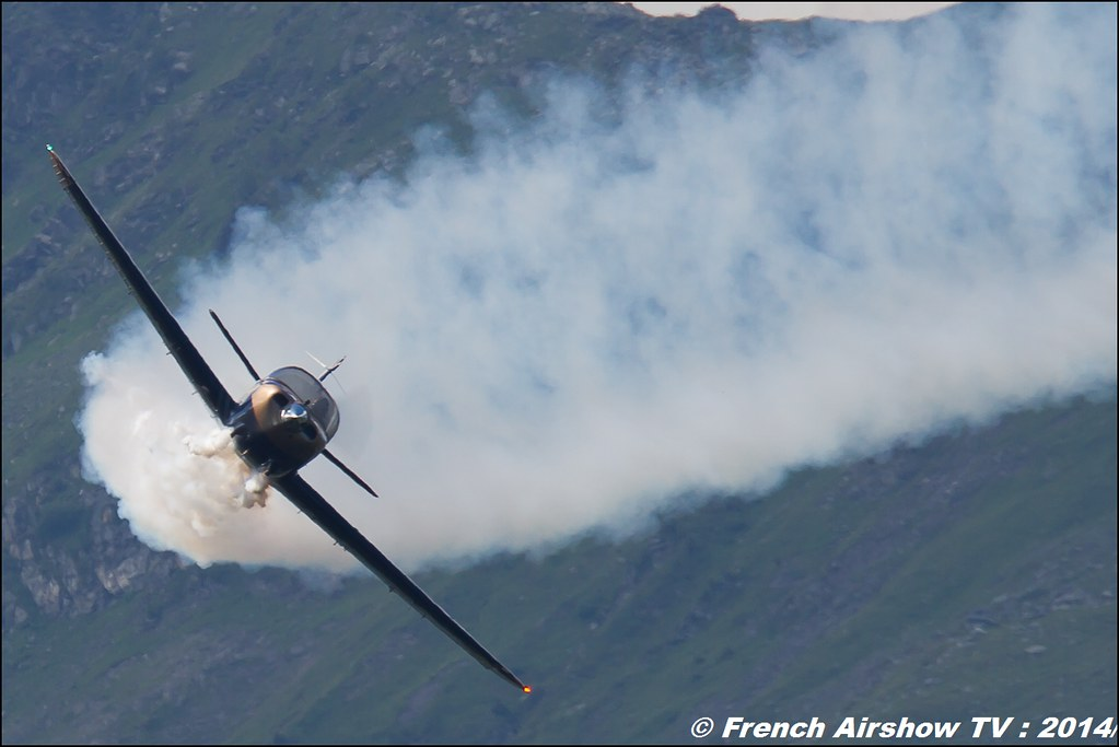 Globe Swift Solo , Patrouille Swift , Meribel Airshow 2014