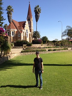 Image of  Parliament Garden. namibia windhoek africaiscalling
