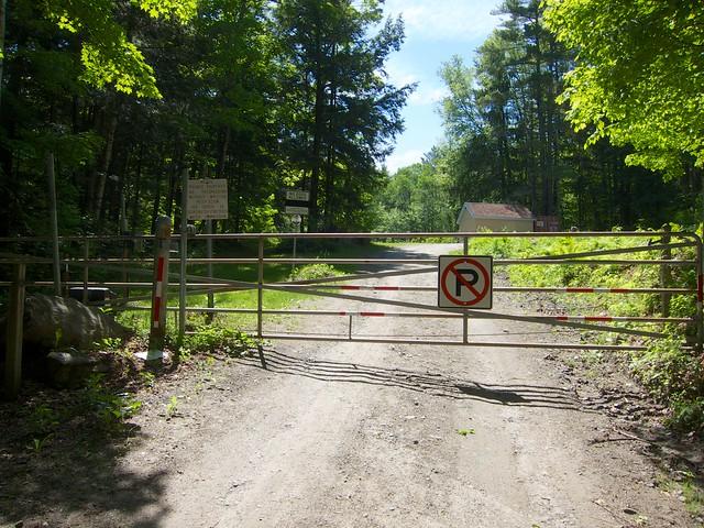Kent's Ledge, Sign, South Royalton, Vermont