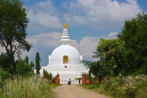 World Peace Pagoda at Lumbini