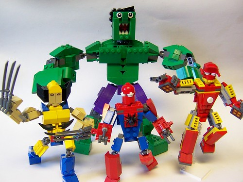 Monster's Marvel Mixel Masterpieces