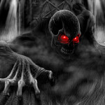 Reborn From Hell Dark Horror Wallpapers