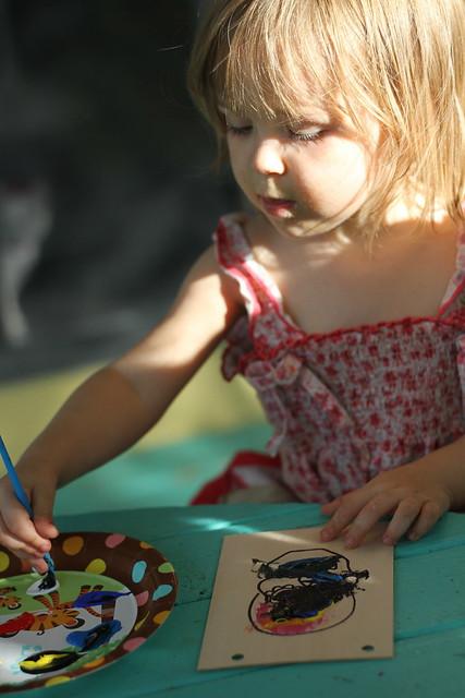 Elise painting