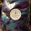 Next on the wheel!  I am so excited!  I haven't spun Polwarth with Silk before and the colors! ~