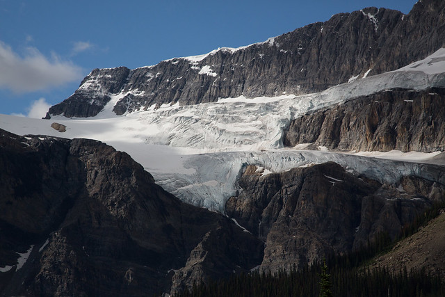 Crowfoot Glacier Banff National Park World Heritage