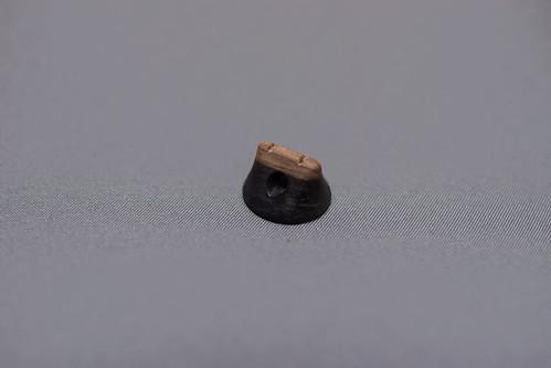 高崎謹製駒 黒柿(二色駒)