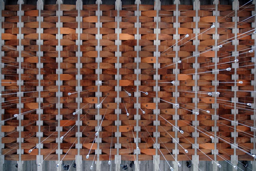 > Plafond de l'église Tagensbo kirke à Copenhague - Photo de Seir+Seir