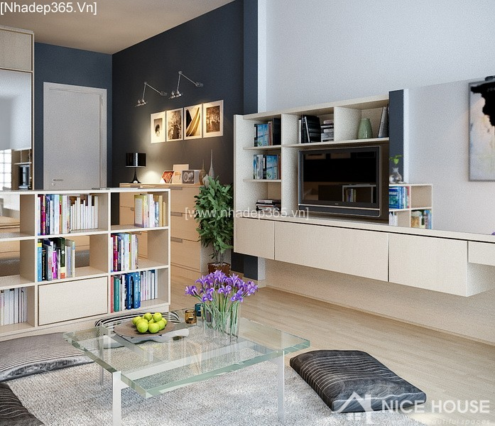 Thiết kế nội thất căn hộ A Đức - Hà Đông_5