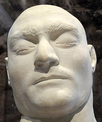 Melbourne, State Library of Victoria - Death Mask of Ned Kelly by Kreitmayer, 1880
