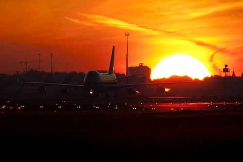 747 freighter Sunrise