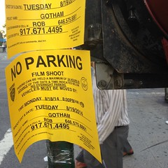 New TV show Gotham getting ready to shoot outside #sfcny tonight