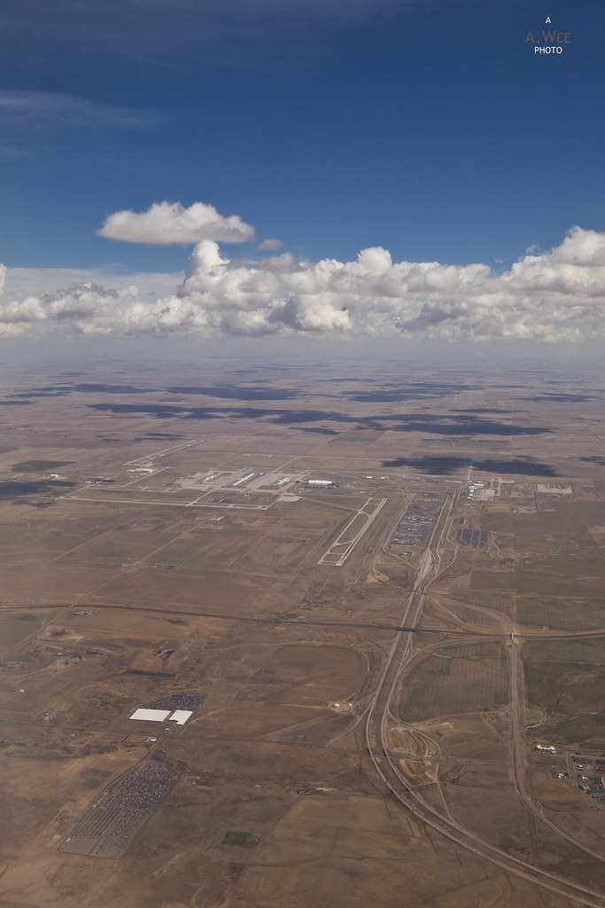 Approaching Denver Airport
