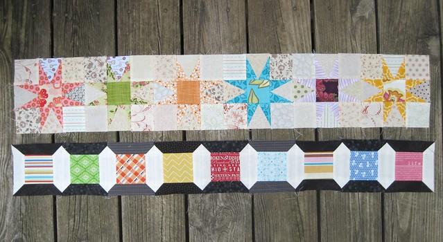 Local quilt guild row quilt