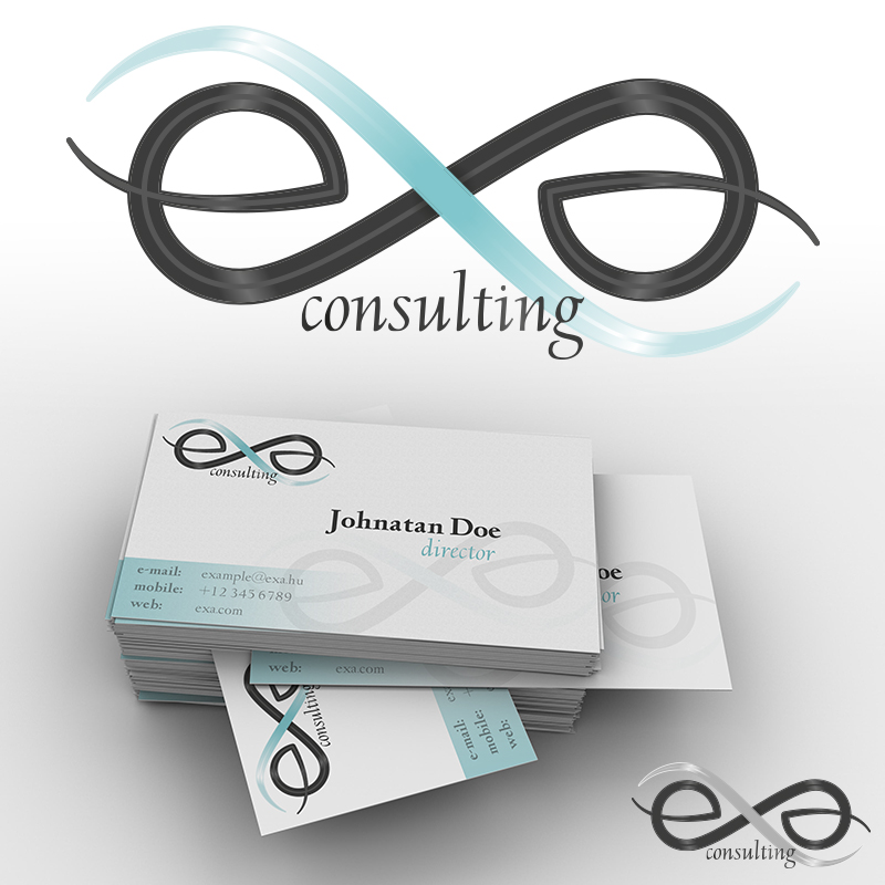 EXA Consulting logóterv
