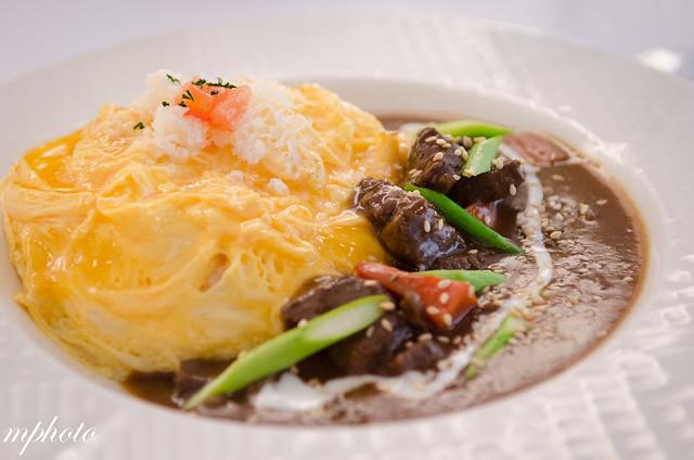 台中美食餐廳 蛋包飯