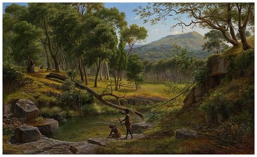 015- Warrenheip Hills, cerca de Ballarat-Eugen von Guerard - Google Art Project