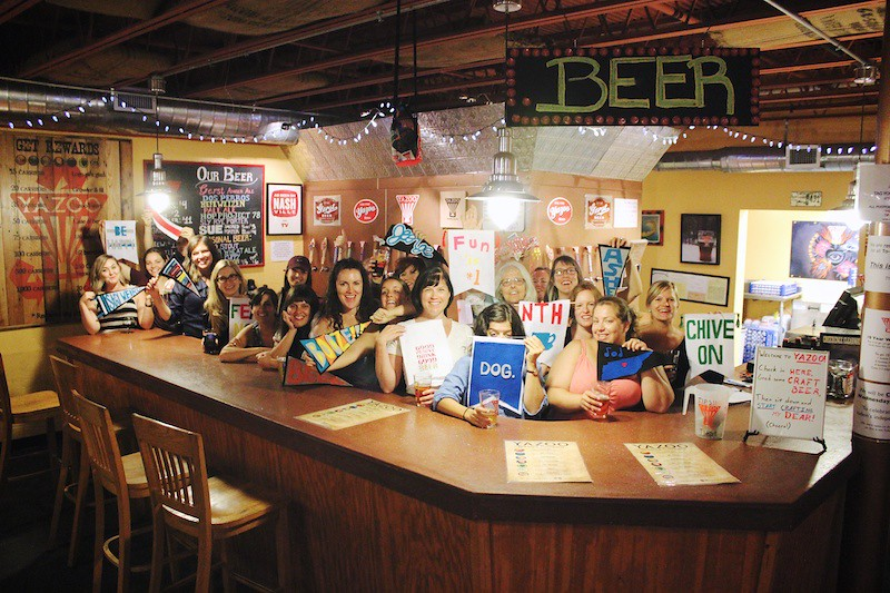 Crafts and Craft Brews at Yazoo