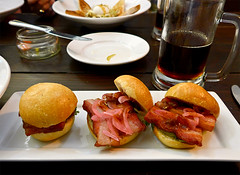 photo - Crispy Carnitas Pork Belly Sliders, Steins…