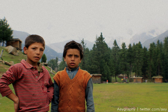 Fairy Meadows - Children