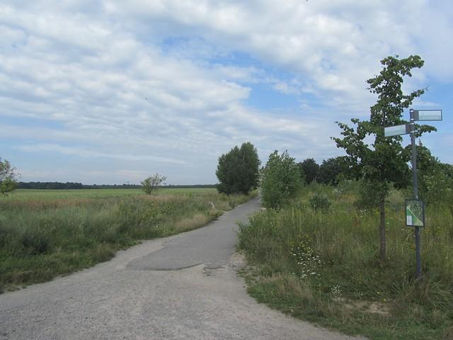 Der größte Teil des Mauerwegs führt, was eigentlich logisch ist, nicht mitten durch die Stadt, sondern außen rum.
