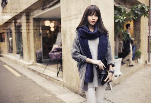 Cách quàng khăn ĐẸP như Hàn Quốc cho Nam/Nữ mà đơn giản 8