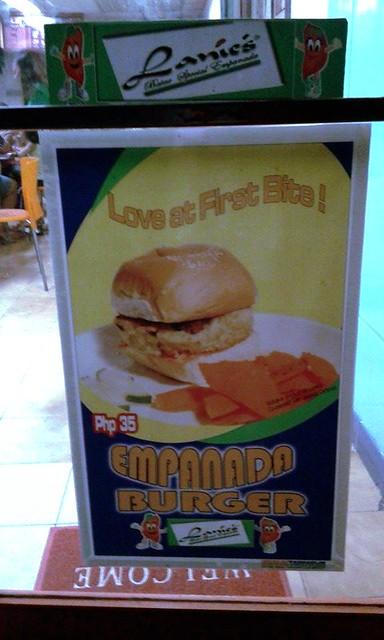 Empanada Burger