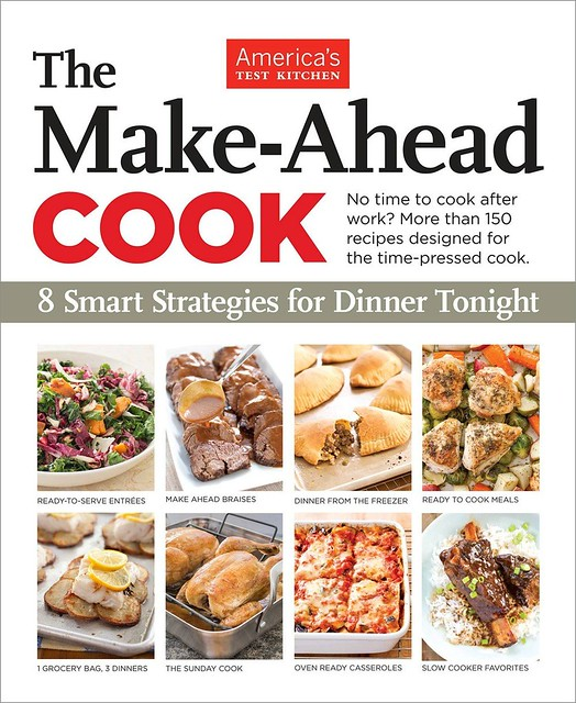The Make-Ahead Cook from America's Test Kitchen – Giveaway!