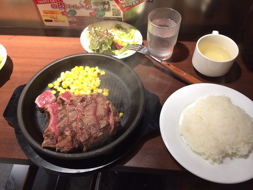 いきなりステーキ 六本木 ランチ
