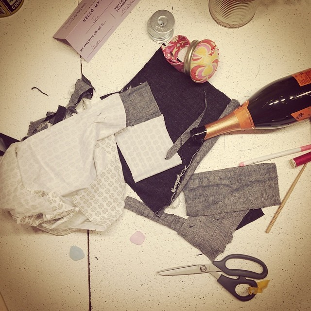 Now that's what I call a successful pants party  #workroomsocial #singersewing