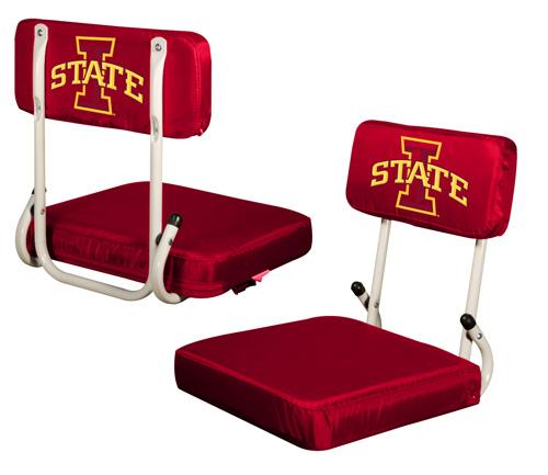 Iowa State Cyclones Hard Back Stadium Seat