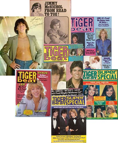 Tiger Beat magazine circa 1980