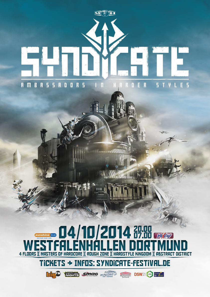 cyberfactory 2014 syndicate westfalenhallen dortmund germany
