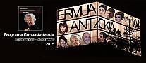 Cartel anunciador del programa de espect�culos culturales de septiembre a diciembre de 2014