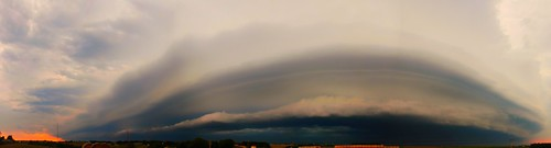 081714 - Late August Nebraska Supercell (Pano)