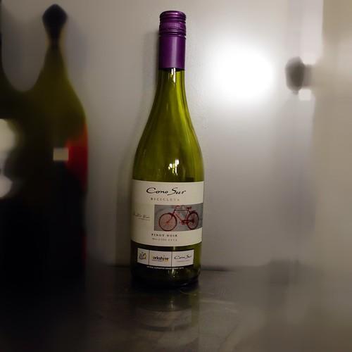 Cono Sur Bicicleta, Pinot Noir 2013. Wine. Red wine. Chilean wine.