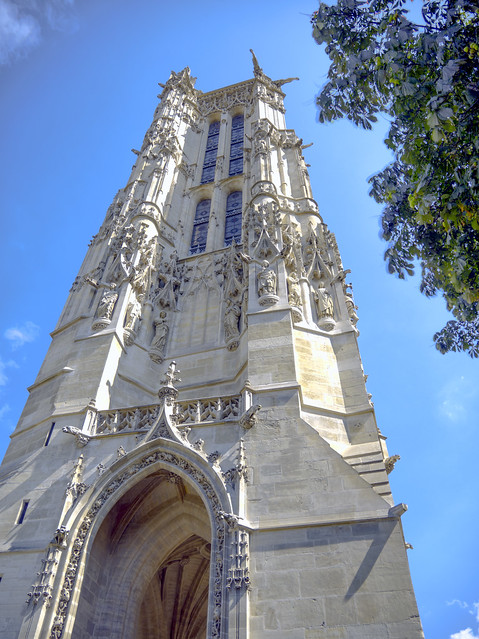 La tour saint jacques flickr photo sharing - Tour saint jacques visite ...