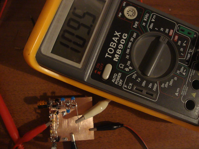 voltage doubler test