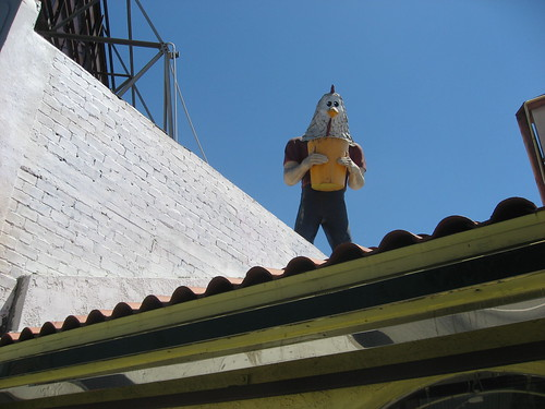 Chicken Boy Statue Los Angeles CA Photo by Keith Valcourt
