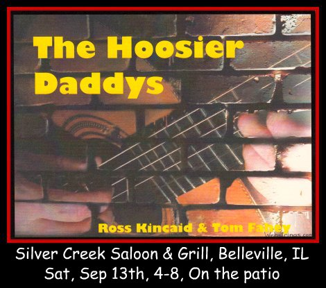 The Hoosier Daddys 9-13-14