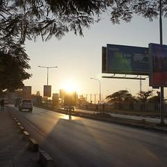 Lusaka sunset #latergram #zambia #africa
