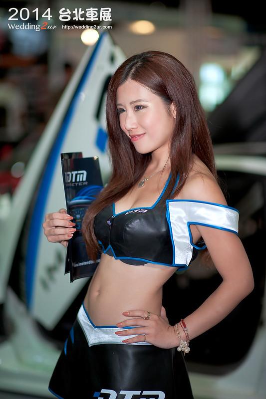 2014台北車展 show girl,37