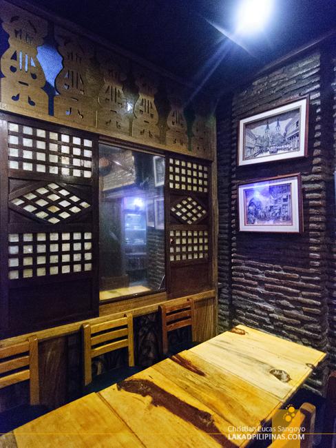 Café Uno in Vigan City