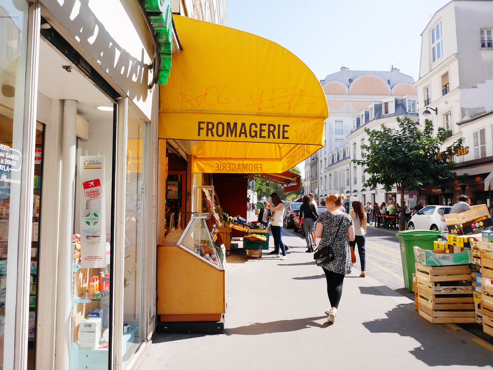 restaurants in montmartre
