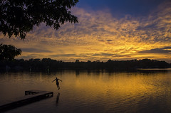Sunset Plunge