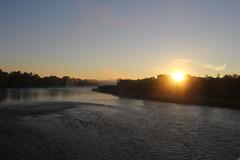 Sunrise over the Grand River (Kitchener, Ontario)