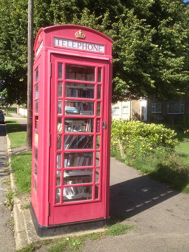 Coton Telephone Box Library
