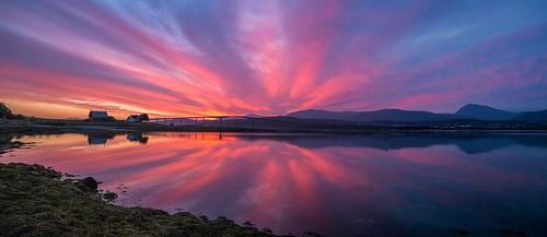 sky panorama norway sunrise landscape fujifilm tromsø troms xe1