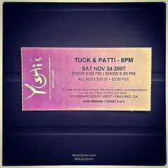 Tuck & Patti - 11/24/07 #tbt #throwback #throwbackthursday #musicsumo