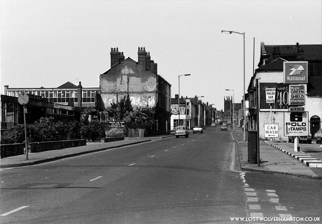 Looking up Horseley Fields from Union Mill Street late circa 1960's.
