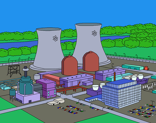 simpsons nuclear